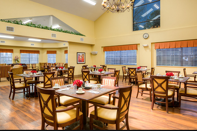 Brookdale New Port Richey Dining Room
