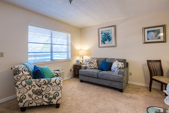 Brookdale New Port Richey living Area