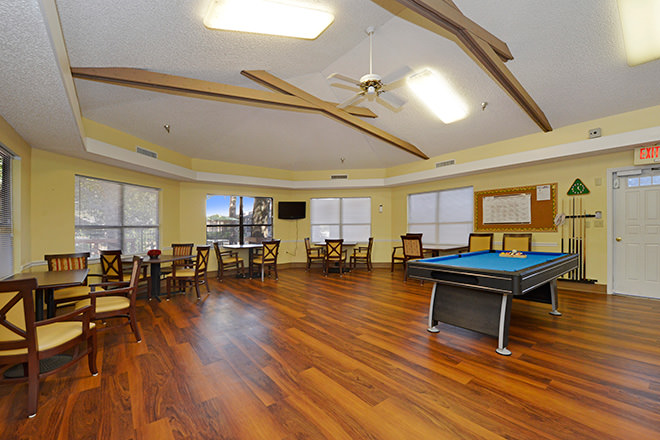 Brookdale New Port Richey Billiards and Game Room