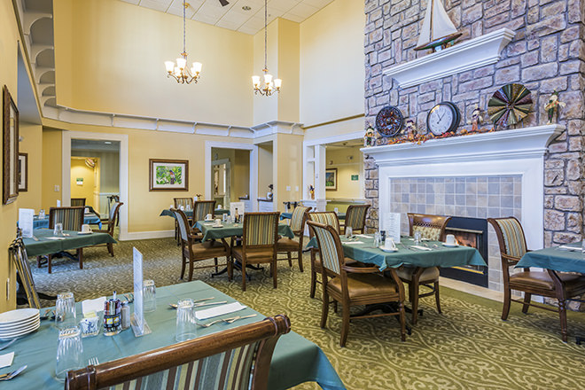 Brookdale Niskayuna Dining Room