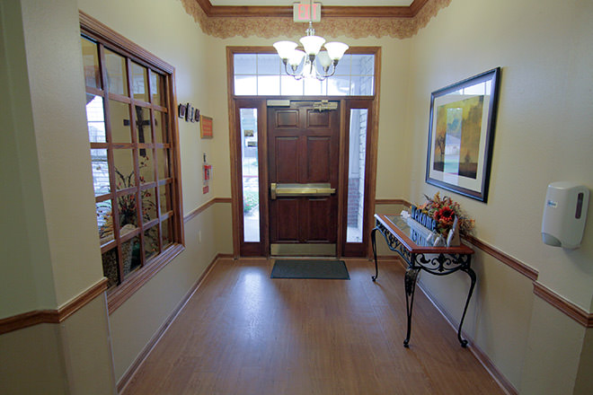 Brookdale Norman Foyer