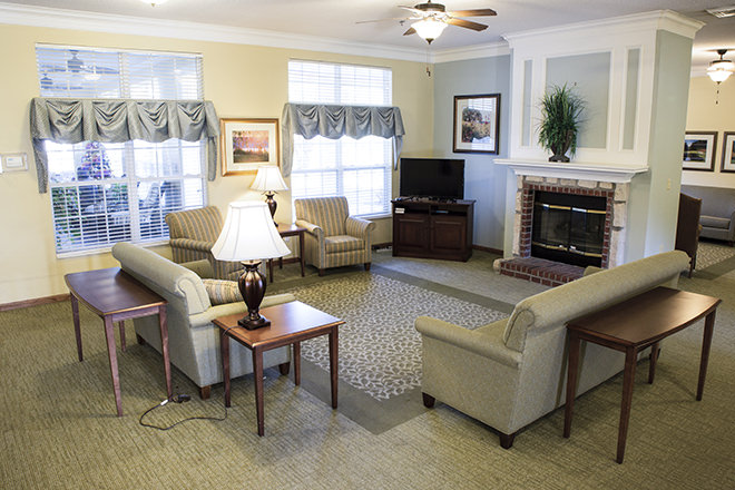 Brookdale North Augusta Community Living Room