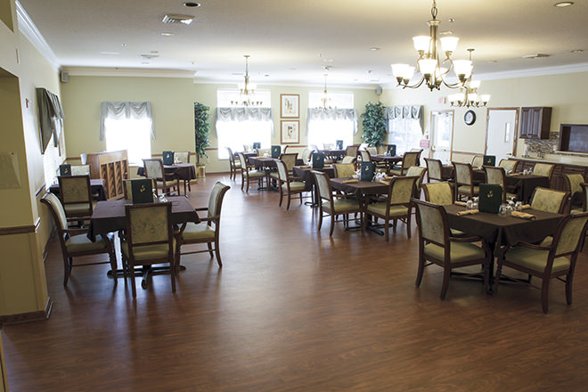 Brookdale North Augusta Dining Room