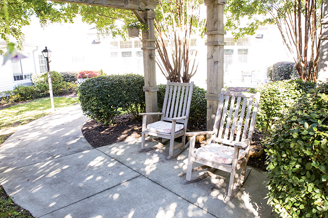 Brookdale North Augusta Patio