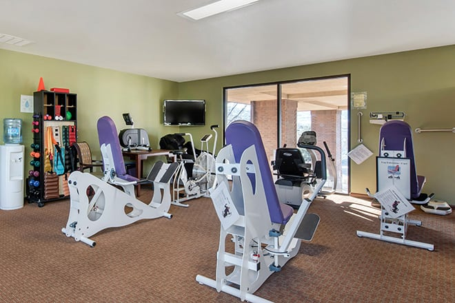 Brookdale North Boulder Fitness Room