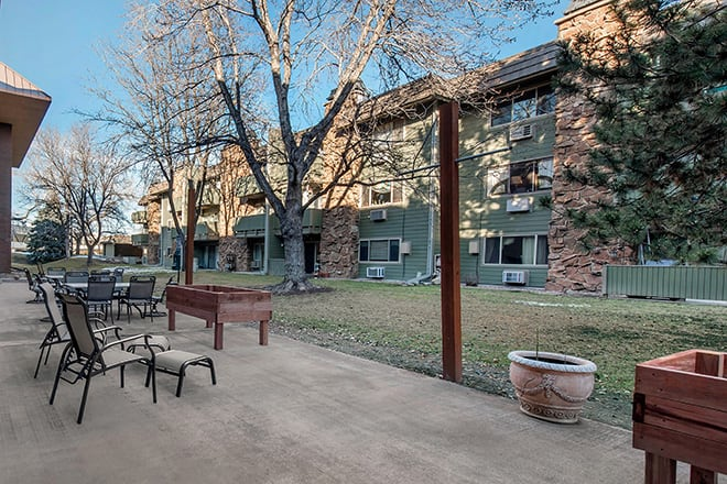 Brookdale North Boulder Patio