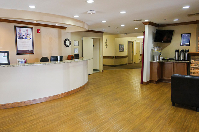 Brookdale North Chandler Skilled Nursing Foyer