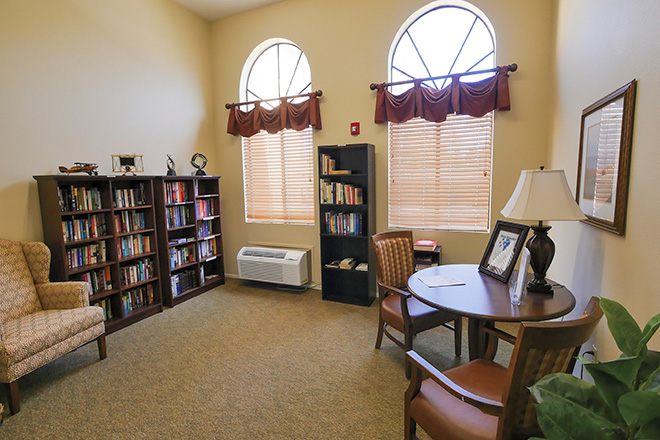Brookdale North Chandler Skilled Nursing Library