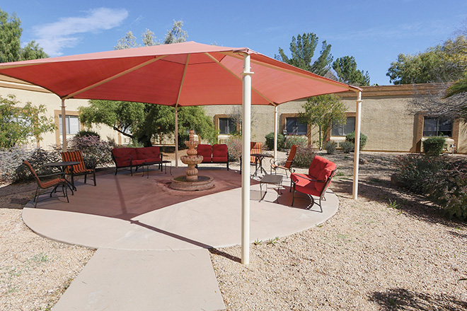 Brookdale North Chandler Skilled Nursing Patio