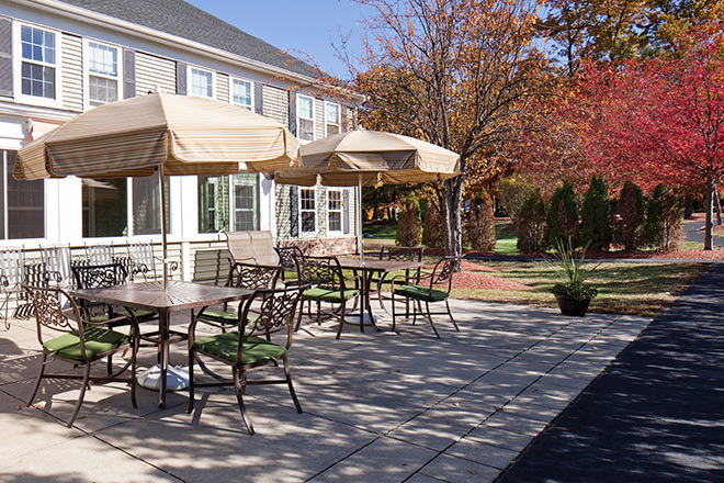Brookdale North Chelmsford Patio
