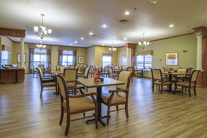 Brookdale North Loveland Dining Room
