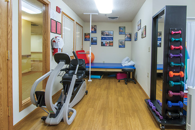 Community Name Fitness Room