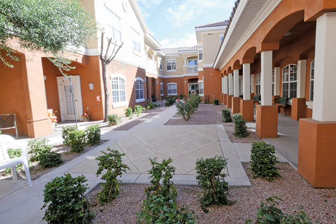 Brookdale North Scottsdale Patio