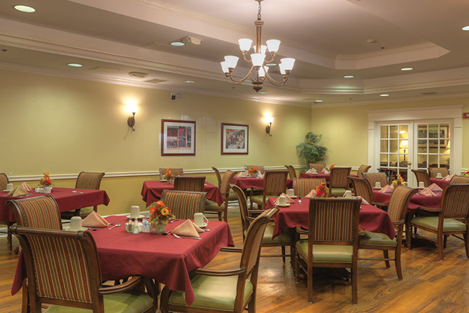 Brookdale Northdale Dining Room