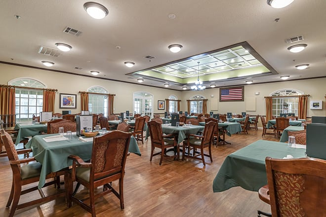 Brookdale Northshore Dining Room