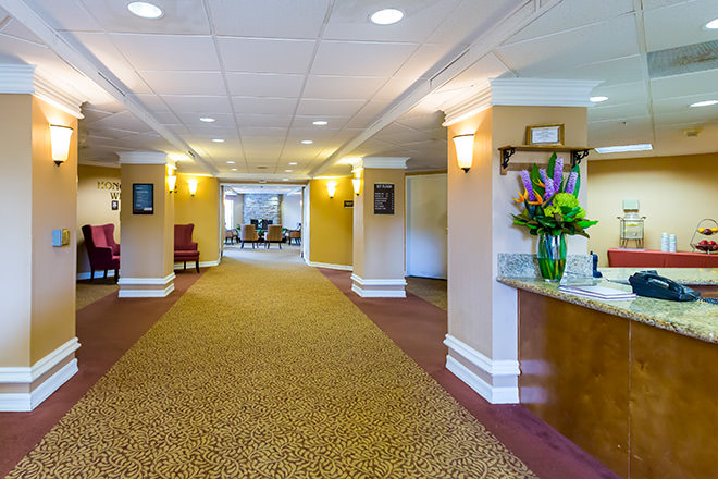 Brookdale Oceanside Foyer