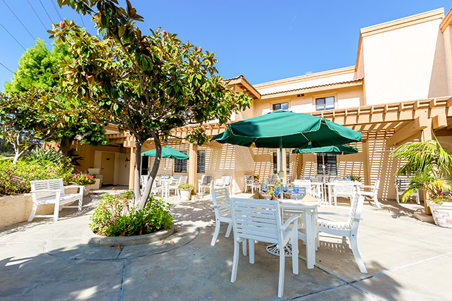 Brookdale Oceanside Patio