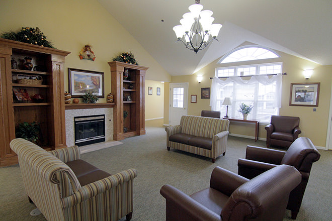 Brookdale Oklahoma City Southwest Community Living Room