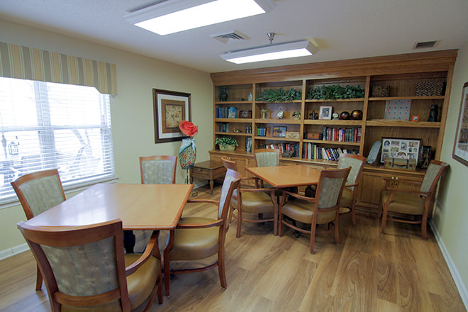 Brookdale Oklahoma City Southwest Activity Room