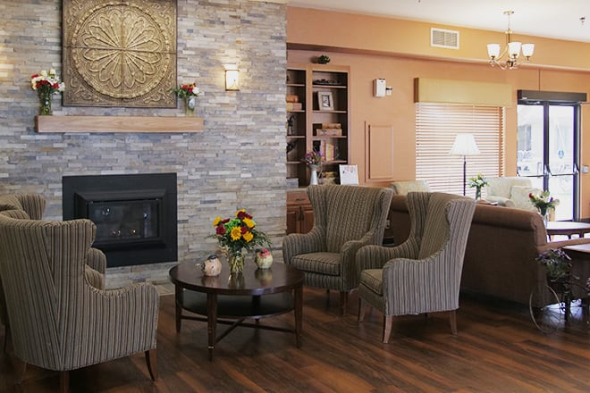 Brookdale Ontario Community Living Room