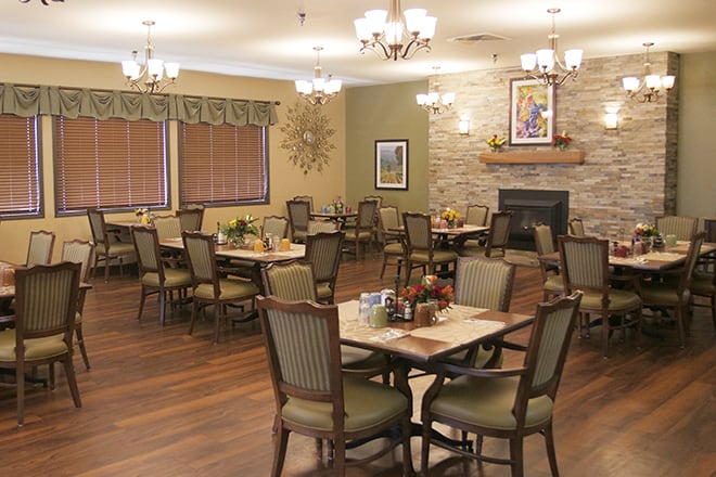 Brookdale Ontario Dining Room
