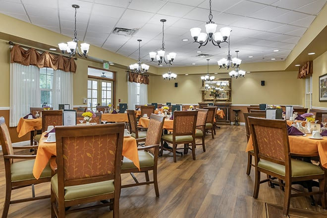 Brookdale Ormond Beach Dining Room