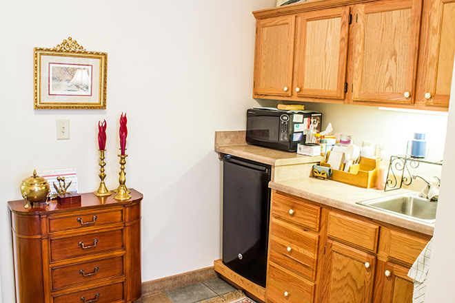 Brookdale Paducah Apartment Kitchen Area