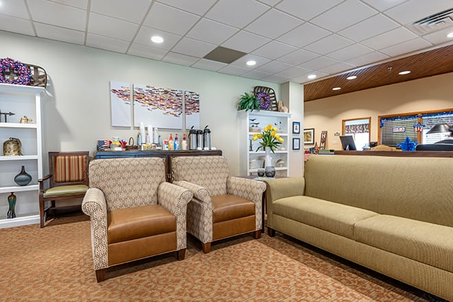 Brookdale Painted Post Community Living Room