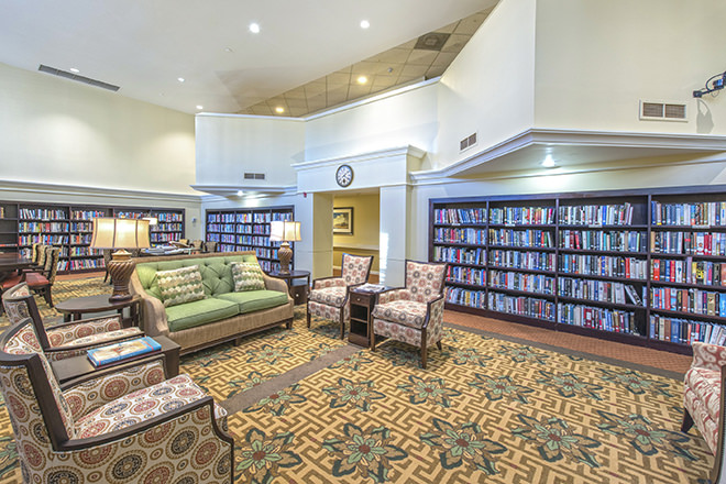 Brookdale Palm Beach Gardens Library
