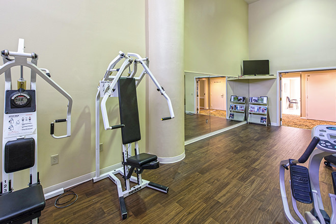 Brookdale Palm Beach Gardens Fitness Room