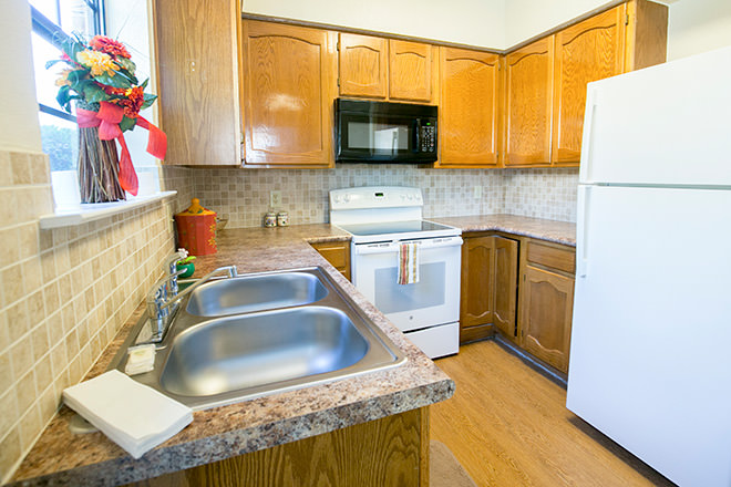 Brookdale Patriot Heights Kitchen Area