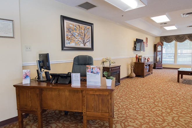 Brookdale Patriot Heights Skilled Nursing Foyer