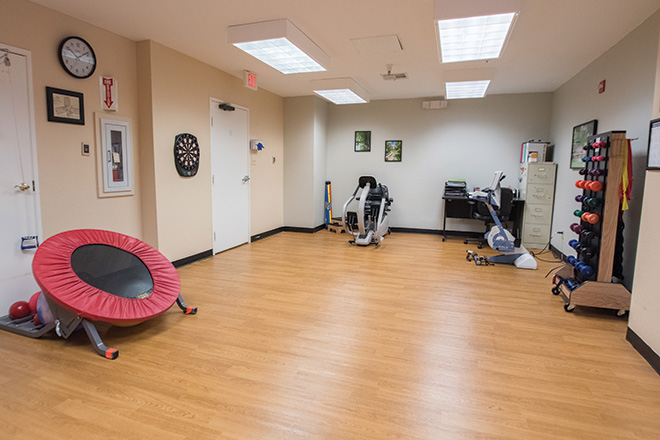 Brookdale Patriot Heights Skilled Nursing Therapy Room
