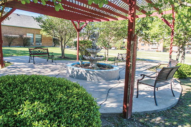 Brookdale Patriot Heights Skilled Nursing Patio