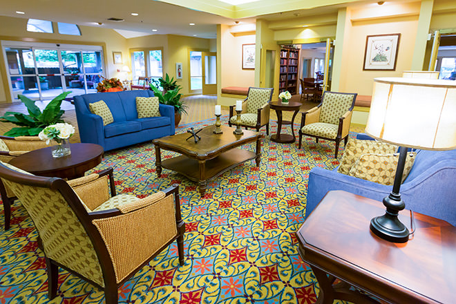 Brookdale Paulin Creek Community Living Room