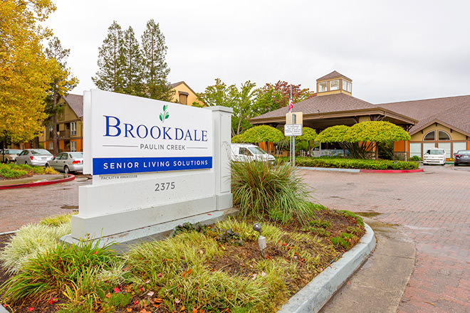 Brookdale Paulin Creek Entrance