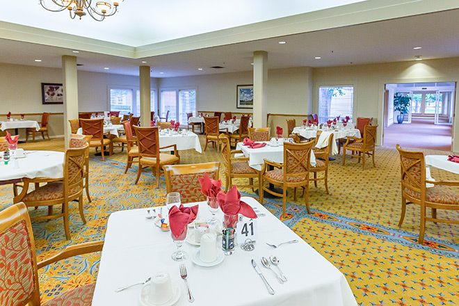 Brookdale Paulin Creek Dining Room