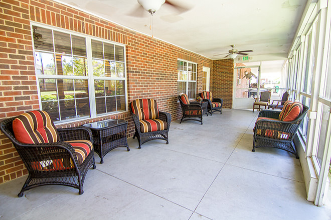 Brookdale Pearland Indoor Patio