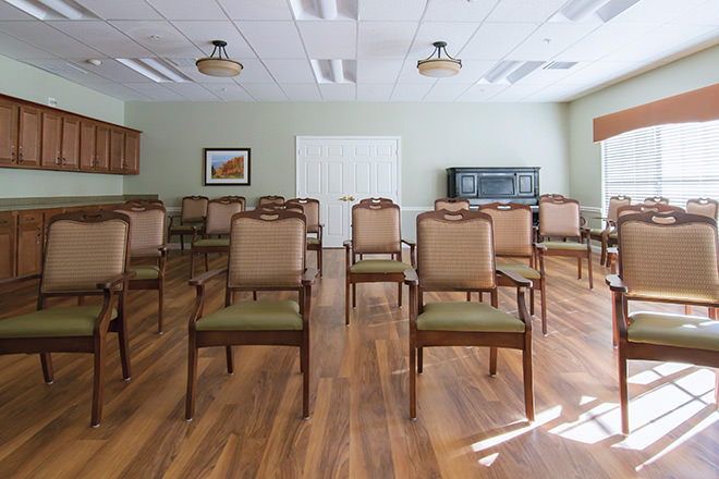 Brookdale Pinehurst Park  Activity Room