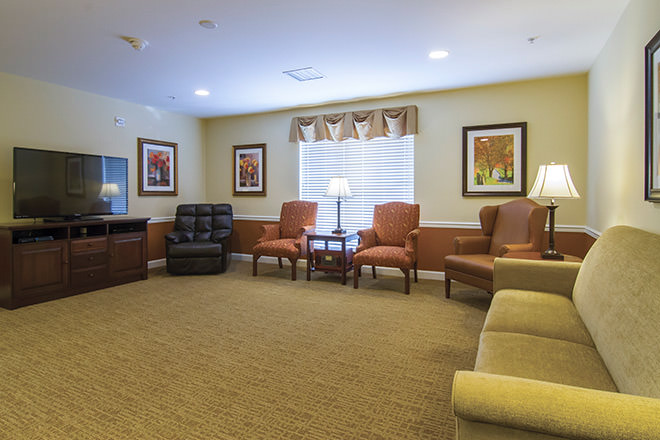 Brookdale Pinehurst Park  TV Room