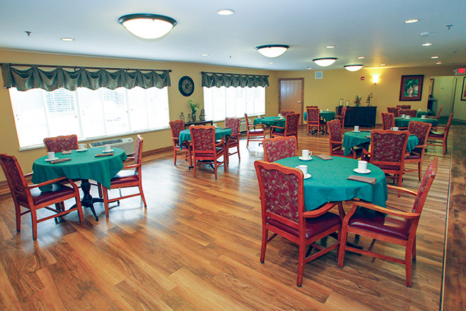 Brookdale Pleasant Prairie Dining Room