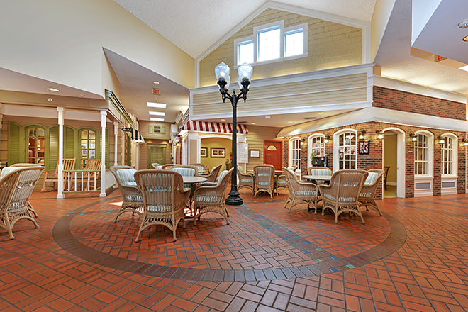 Brookdale Plymouth  Foyer