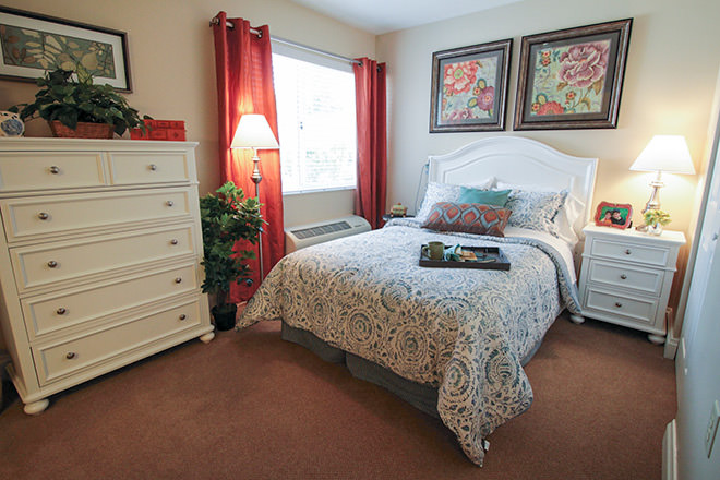 Brookdale Port Charlotte Bedroom