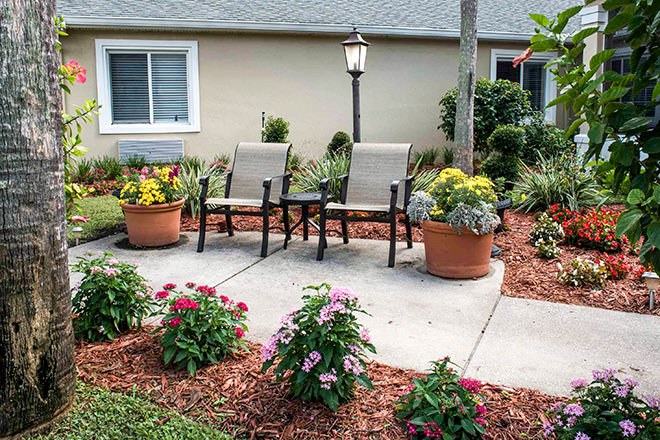 Brookdale Port Orange Patio