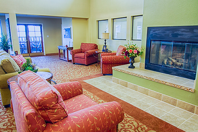 Brookdale Prescott Community Living Room