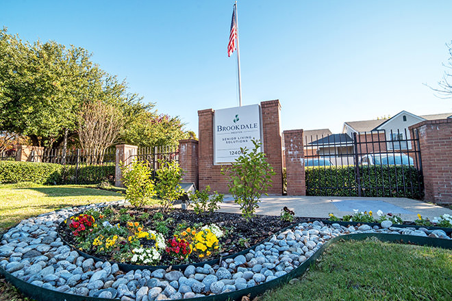 Brookdale Preston Entrance