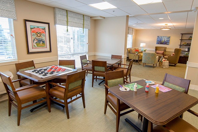 Brookdale Prospect Heights  Memory Care Creative Room