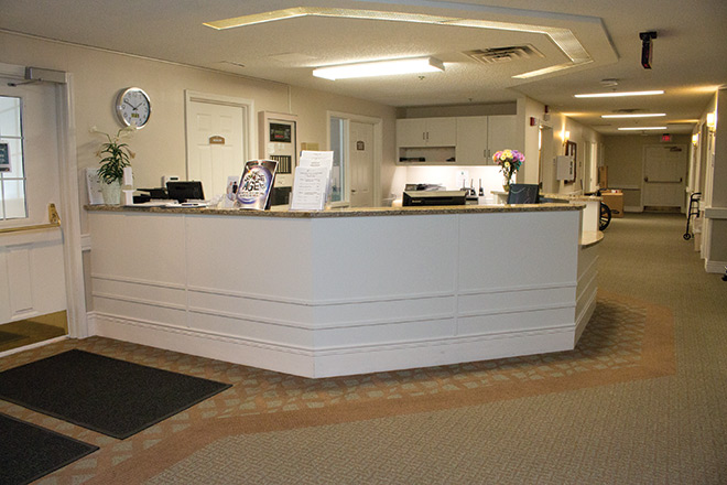 Brookdale Prospect Heights Skilled Nursing Foyer