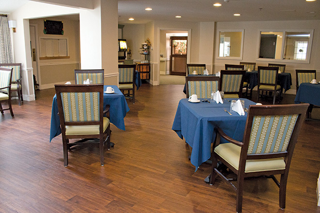 Brookdale Prospect Heights Skilled Nursing Dining Room