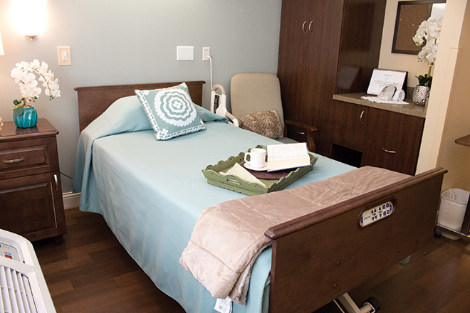 Brookdale Prospect Heights Skilled Nursing Bedroom